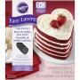 Комплект форми за торта Easy Layers - Сърца - 5 бр