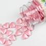 Захарни фигурки за поръсване - Розови сърца - 80 гр