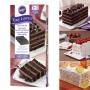 Комплект форми за торта Easy Layers - Правоъгълни - 4 бр