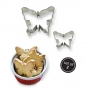 Комплект метални резци - Пеперуди - 2 бр