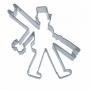 Метален резец - Коминочистач - 10 см