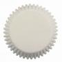 Хартиени форми за мини мъфини - Бели - 100 бр