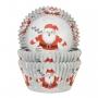 Хартиени форми за мъфини - Дадо Коледа - 50 бр
