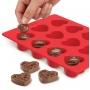 Силиконова форма за шоколад - Сърца