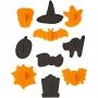 Комплект резци и щампи - Хелоуин - 10 бр