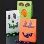 Комплект торбички и стикери - Хелоуин - 6 бр