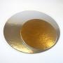 Двулицева подложка Сребро / Злато - Кръг - Ø 30 см