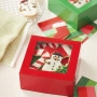 Комплект кутии - Традиционна Коледа - 3 бр