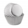 Хартиени форми за мини мъфини - Сребърни изкушения - 80 бр