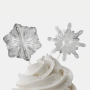 Декорации за мъфини и торти - Снежни изкушения