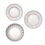 Парти чинии - Party Porcelain - Сребро и порцелан - Малки