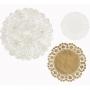 Декоративни подложки - Party Porcelain - Злато и порцелан