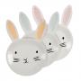 Парти чинии - MeriMeri - Великденско зайче