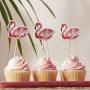 Парти декорации за мъфини - FLAMINGO FUN - Фламинго