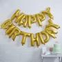 Парти балони - PICK & MIX - Happy Birthday - Злато