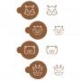 Комплект шаблони - Горски животни - 4 бр