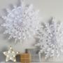 Висяща декорация - Christmas Metallics - Празнични снежинки