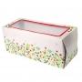 Кутия за торта с прозорче - Холи-Бери - 30х12х12 см