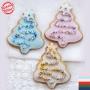 Коледна джинджифилова бисквитка - Коледна елха