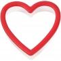 Резец - Сърце с удобен захват - 9 см