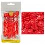 Захарни фигурки - Големи червени сърца - 56 гр