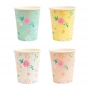 Парти чаши - MeriMeri - Пролетни цветя