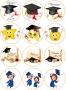 Принт декорация - Честито дипломиране - 12 бр