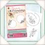Колекция печати - Цветя и приятелство - Кръгли