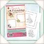 Колекция печати - Цветя и приятелство - Квадратни