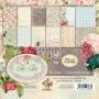 Комплект дизайнерски хартии - 6 x 6 - Време за чай