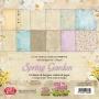 Комплект дизайнерски хартии - 12x12 - Пролетна градина
