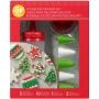 Комплект за декориране на бисквитки - Коледа - 18 бр