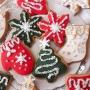 Домашни бисквитки - Традиционна Коледа - 6 бр