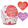Комплект за мъфини - Sweet Valentine