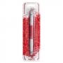Двустранна декорираща писалка - Червено