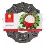 Форма за печене с незалепващо покритие - Коледен венец