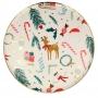 Парти чинии - MeriMeri - Коледни мотиви - Големи
