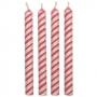 Комплект свещички - Розово рае - 24 бр