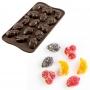 Силиконов молд за бонбони - Choco Fruits