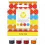 Комплект концентрирани бои за бонбони и шоколад - 4 бр х 7 гр