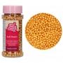 Меки захарни перли - Златни - 60 гр