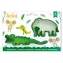 Комплект резци - Слон и Крокодил - 2 бр