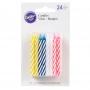 Комплект свещички - Разноцветни - 24 бр