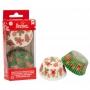 Хартиени форми за мъфини - Джинджифилова Коледа - 36 бр