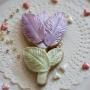 Домашна бисквитка - Лале - Перлено лилаво