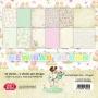 Комплект дизайнерски хартии - 6 x 6 - Новородено бебе